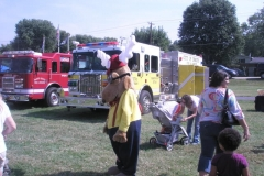 Fall Festival Fire Trucks