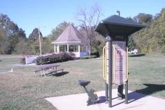 Walther Park Gazebo, Trail