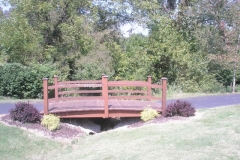 Walther Park  Walk Bridge