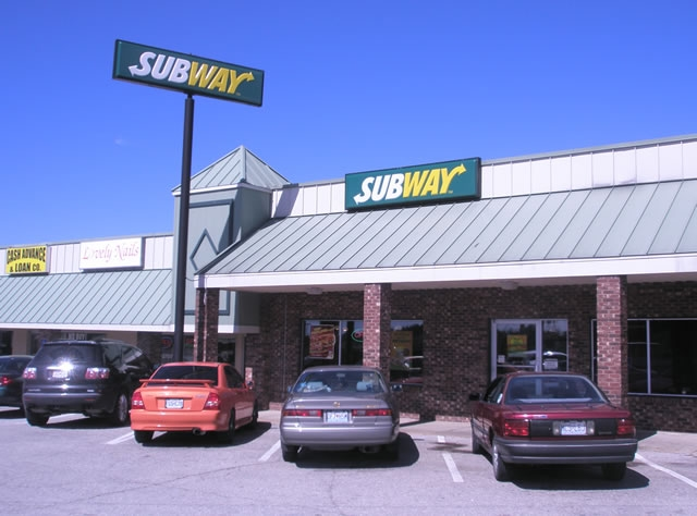Subway Sandwich on Rock Rd