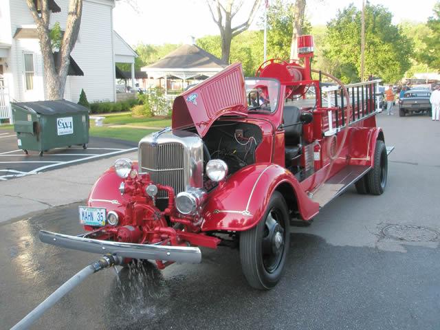 Mahn fire truck