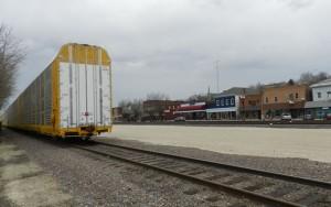 Union Pacific Autoflex near Main Street